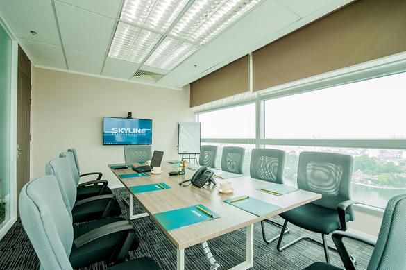 Trải nghiệm dịch vụ cho thuê phòng họp đầy đủ tiện ích tại Skyline5